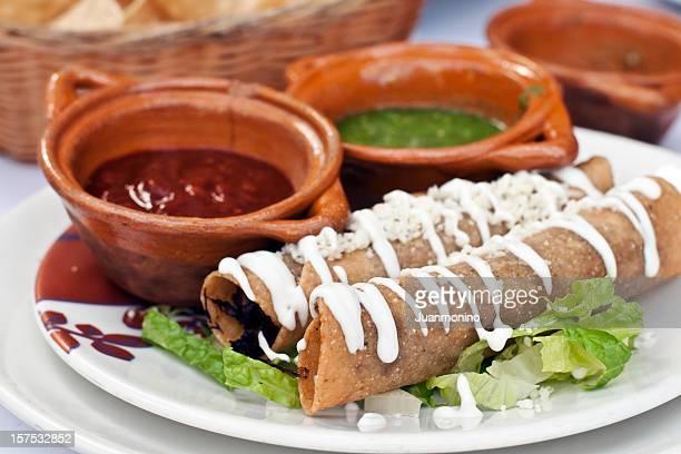 Crispy Rolled Taquitos (flautas)