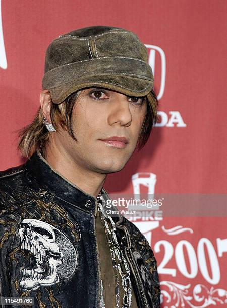 Criss Angel arrives at Spike TV's 'Scream 2007' held at The Greek Theatre on October 19 2007 in Los Angeles California