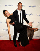 Crissy Barker and Nigel Barker attend An Evening Of Wishes Annual Gala Benefiting MakeAWish Metro New York on June 11 2015 in New York City