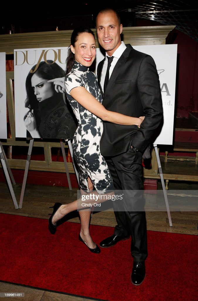 Crissy Barker and <a gi-track='captionPersonalityLinkClicked' href=/galleries/search?phrase=Nigel+Barker&family=editorial&specificpeople=691819 ng-click='$event.stopPropagation()'>Nigel Barker</a> attend DuJour Magazine Gala With Coco Rocha & <a gi-track='captionPersonalityLinkClicked' href=/galleries/search?phrase=Nigel+Barker&family=editorial&specificpeople=691819 ng-click='$event.stopPropagation()'>Nigel Barker</a> Presented by Invicta at Scott Sartiano and Richie Akiva's The Darbyon January 23, 2013 in New York City.