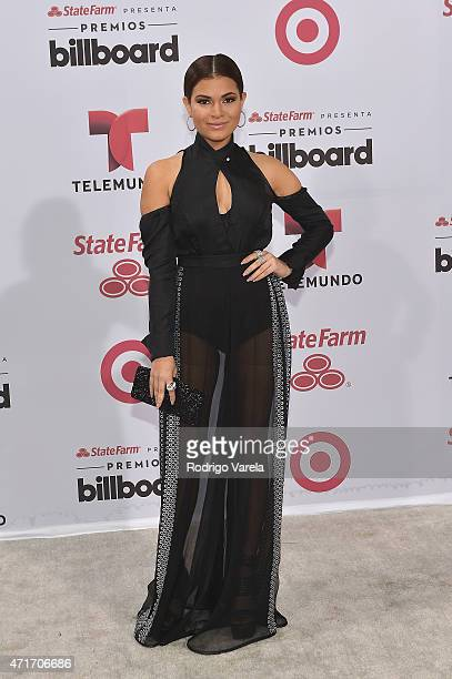 Cristal Marie arrives at 2015 Billboard Latin Music Awards presented bu State Farm on Telemundo at Bank United Center on April 30 2015 in Miami...