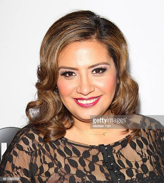 Cristela Alonzo arrives at the Disney ABC Television Group's TCA Winter press tour held at The Langham Huntington Hotel and Spa on January 14 2015 in...