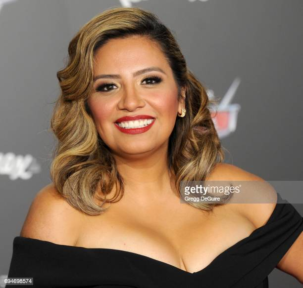 Cristela Alonzo arrives at the premiere of Disney And Pixar's 'Cars 3' at Anaheim Convention Center on June 10 2017 in Anaheim California