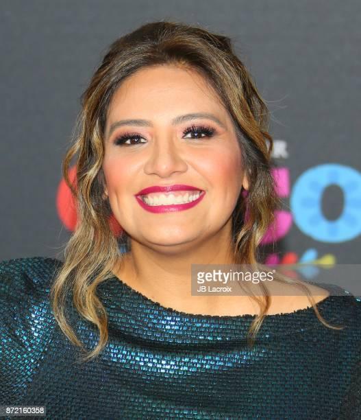 Cristela Alonzo attends the premiere of Disney Pixar's 'Coco' on November 8 2017 in Los Angeles California