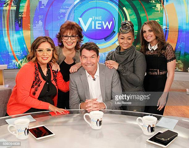 THE VIEW Cristela Alonzo guest cohosts and Jerry O'Connell and Maura Tierney are guests on 'THE VIEW' 6/10/16 airing on the ABC Television Network...