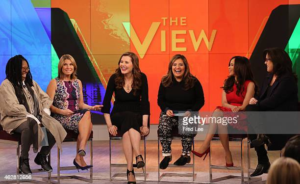 THE VIEW Cristela Alonzo is the guest cohost today Thursday February 5 2015 Guests include Geena Davis and Eve Ensler 'The View' airs MondayFriday on...