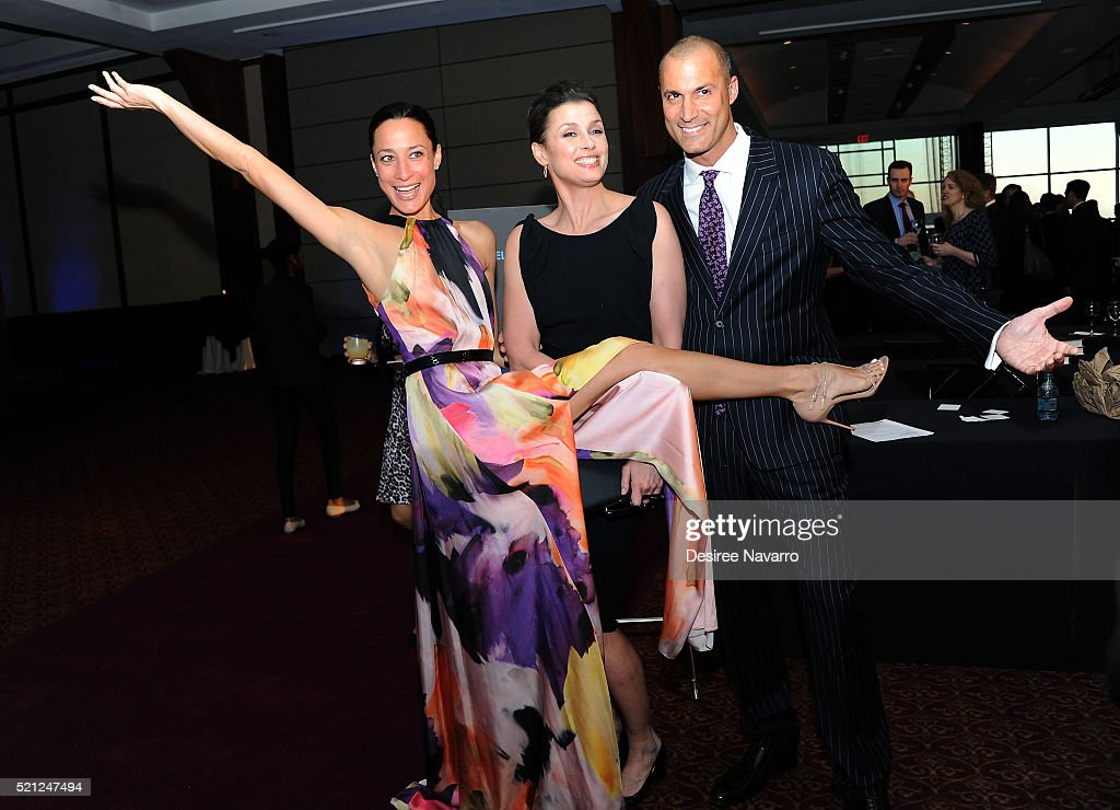 Cristen Barker actress Bridget Moynahan and fashion photographer Nigel Barker attend Jumpstart's 11th Annual Scribbles to Novels Gala at Pier Sixty...
