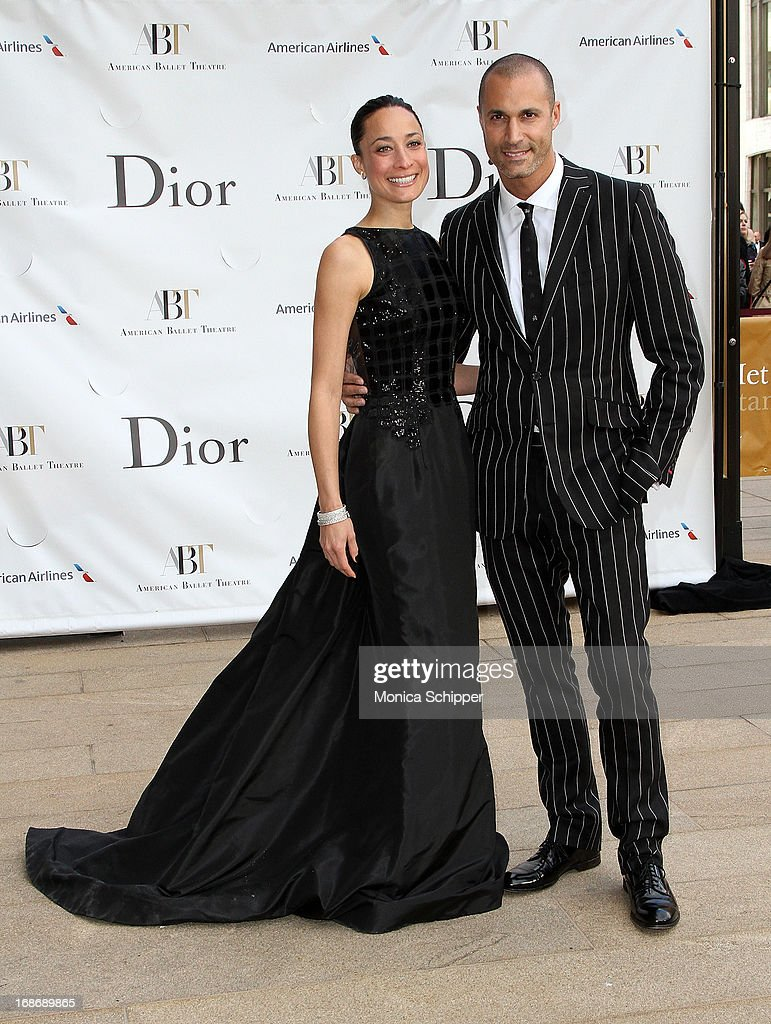 Cristen Barker and Nigel Barker attend the 2013 American Ballet Theatre Opening Night Spring Gala at Lincoln Center on May 13, 2013 in New York City.