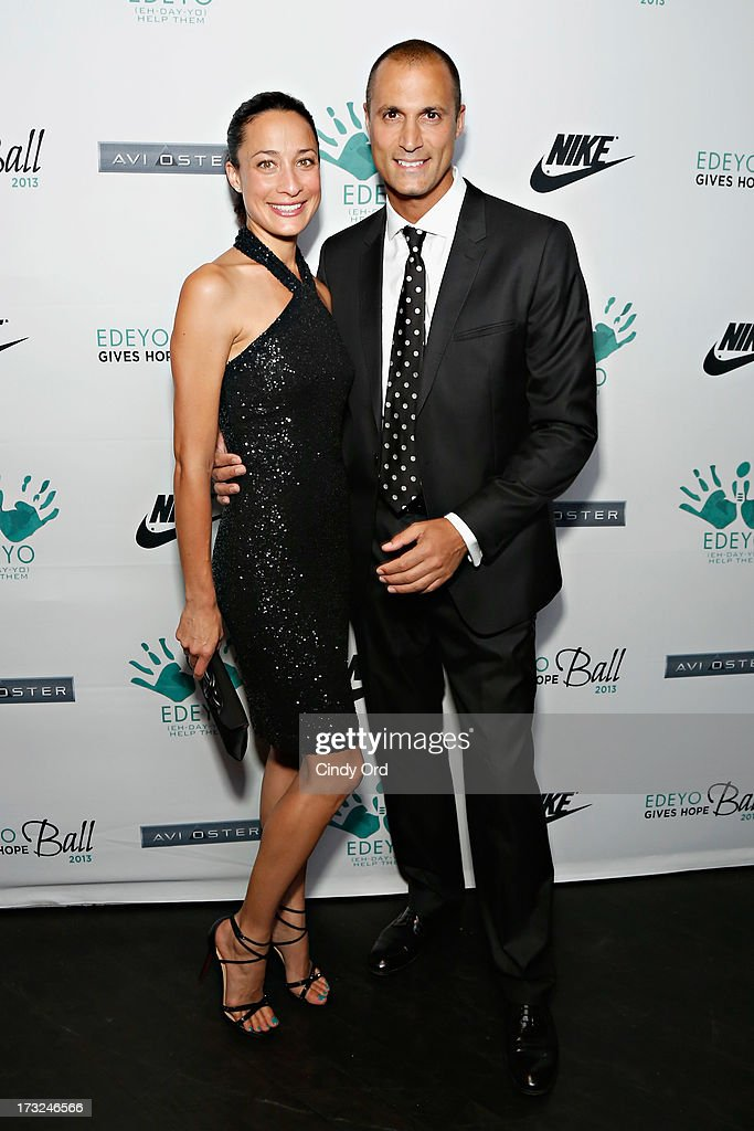 Cristen Barker and Nigel Barker attend the 2013 Edeyo Gives Hope Ball at Highline Ballroom on July 10, 2013 in New York City.