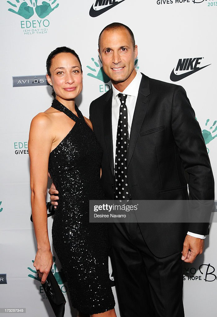 Cristen Barker and <a gi-track='captionPersonalityLinkClicked' href=/galleries/search?phrase=Nigel+Barker&family=editorial&specificpeople=691819 ng-click='$event.stopPropagation()'>Nigel Barker</a> attend the 2013 Edeyo Gives Hope Ball at Highline Ballroom on July 10, 2013 in New York City.