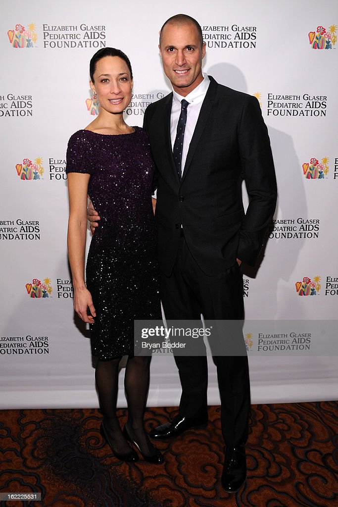 Cristen Barker and <a gi-track='captionPersonalityLinkClicked' href=/galleries/search?phrase=Nigel+Barker&family=editorial&specificpeople=691819 ng-click='$event.stopPropagation()'>Nigel Barker</a> attend the Elizabeth Glaser Global Champions of a Mothers Fight Awards Dinner at Mandarin Oriental Hotel on February 20, 2013 in New York City.