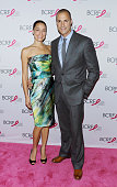 Cristen Barker and photographer/TV personality Nigel Barker attend the 2015 BCRF Awards Gala at The Waldorf=Astoria on October 29 2015 in New York...