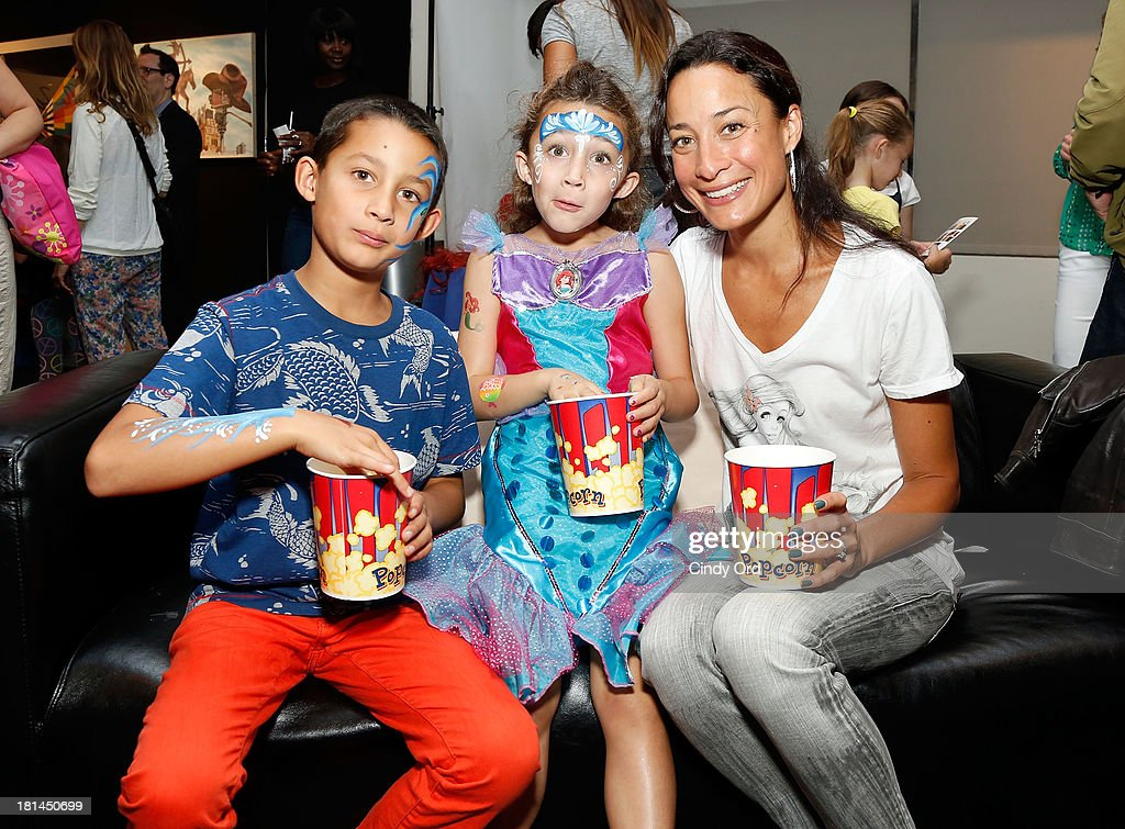 Cristen Barker (L) attends Disney's The Little Mermaid special screening at Walter Reade Theater on September 21, 2013 in New York City.