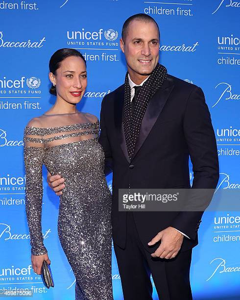 Cristen Chin and Nigel Barker attend the 10th Annual UNICEF Snowflake Ball at Cipriani Wall Street on December 2 2014 in New York City