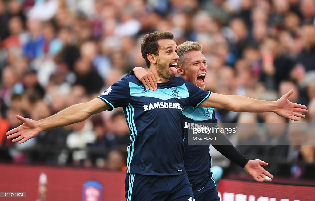 West Ham United v Middlesbrough - Premier League