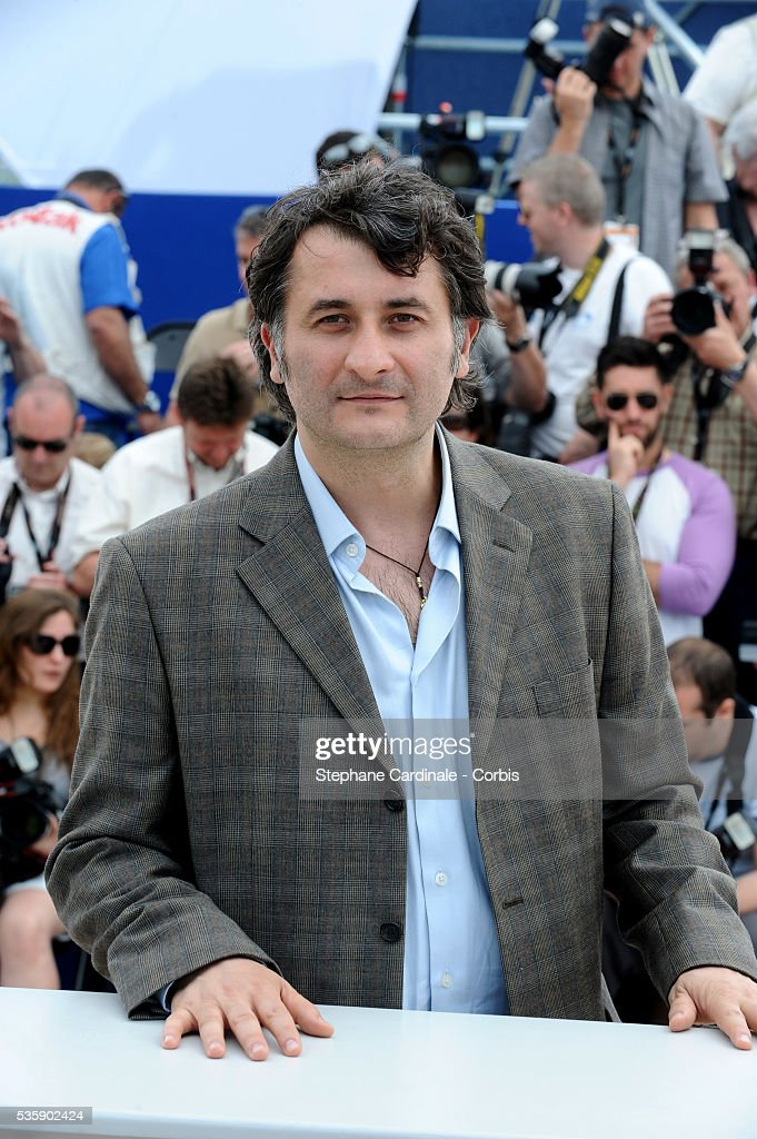 Cristi Puiu at the photocall for 'Aurora' during the 63rd Cannes International Film Festival.