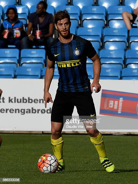 Cristian Ansaldi of FC Internazionale in action during the friendly match between Tottenham FC Hotspur and Fc Internazionale played at Ullevaal...