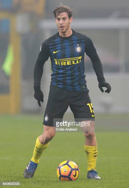 Cristian Ansaldi of FC Internazionale Milano in action during the TIM Cup match between FC Internazionale and SS Lazio at Stadio Giuseppe Meazza on...