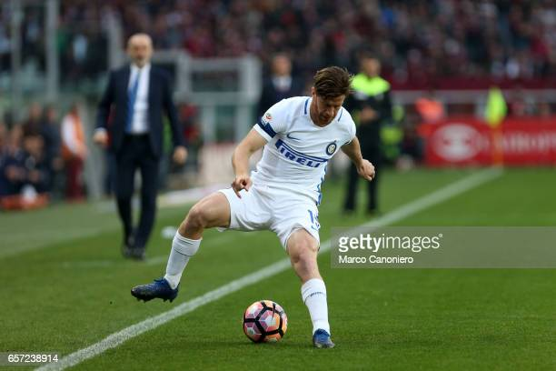 Cristian Ansaldi of Internazionale Fc in action during the Serie A match between FC Torino and FC Internazionale Final result is 22
