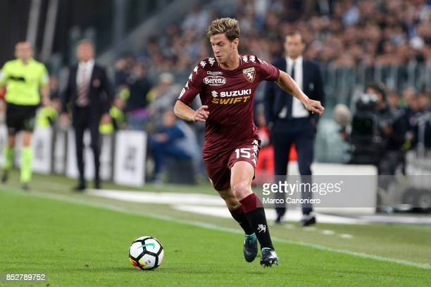 Cristian Ansaldi of Torino FC in action during the Serie A football match between Juventus Fc and Torino Fc Juventus won the game 4 goals to nil