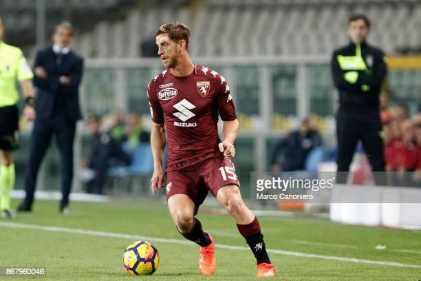 Cristian Ansaldi of Torino FC in action during the Serie A football match between Torino Fc and Cagliari Calcio Torino Fc wins 21 over Cagliari Calcio