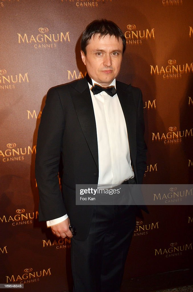 Cristian Mungiu attends La Vie D'Adele Palme d'Or Party At The Magnum Cannes Plage - The 66th Annual Cannes Film Festival on May 26, 2013 in Cannes, France.