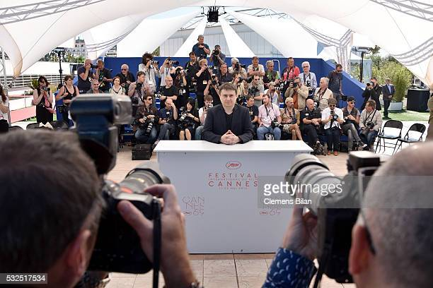 Cristian Mungiu attends the 'Graduation ' Photocall during the 69th annual Cannes Film Festival at the Palais des Festivals on May 19 2016 in Cannes...