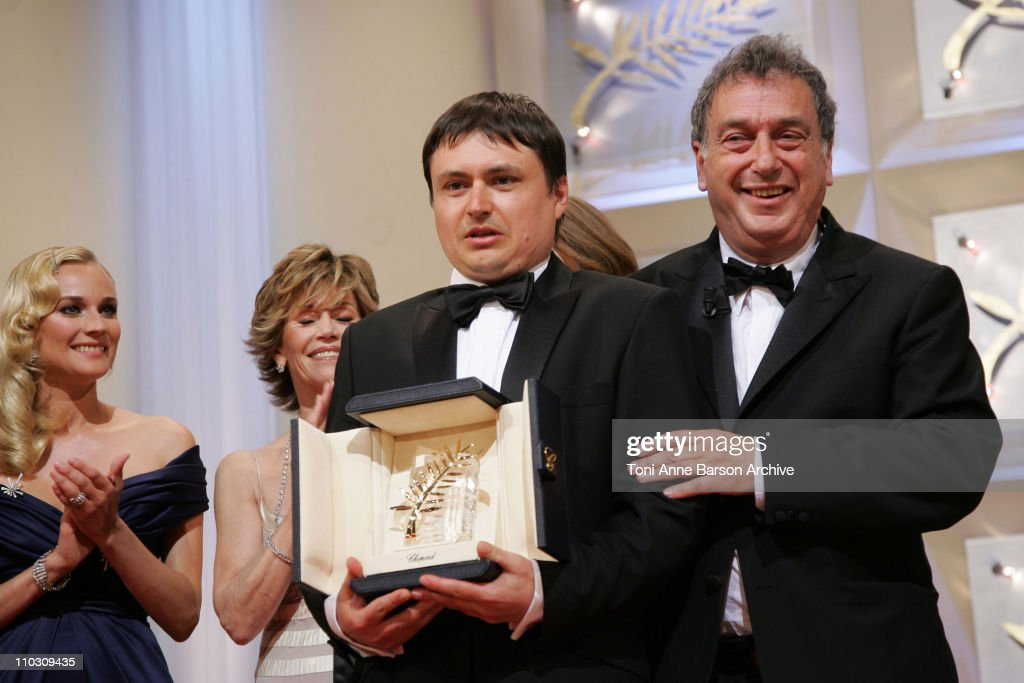 Cristian Mungiu director Winner of the Palm D'Or and Stephen Frears