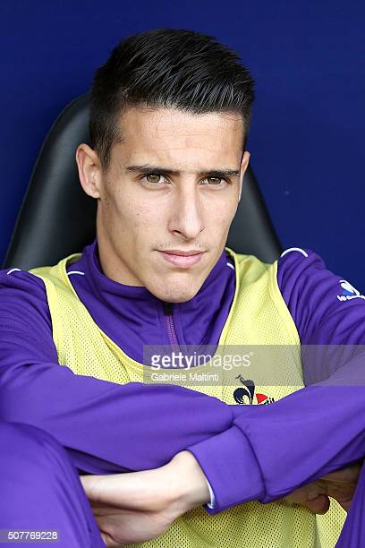 Cristian Tello of ACF Fiorentina during the Serie A match between Genoa CFC and ACF Fiorentina at Stadio Luigi Ferraris on January 31 2016 in Genoa...