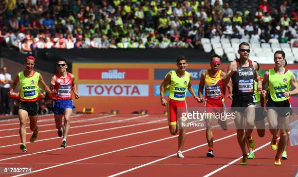 Cristian Valenzuela of China and Guiade Raul Moya and Guida Pedro Garcia Lopez and Jason Joseph Dunkerley of Canada and Jermie Nathaniel Venne in...