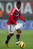 Cristian Zapata of AC Milan in action during the Serie A match between AC Milan and Pescara at San Siro Stadium on December 16 2012 in Milan Italy
