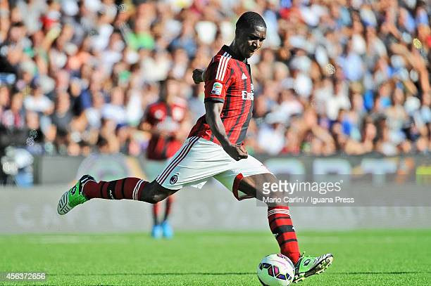 Cristian Zapata of AC Milan in action during the Serie A match between AC Cesena and AC Milan at Dino Manuzzi Stadium on September 28 2014 in Cesena...