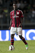 Cristian Zapata of AC Milan in action during the Serie A match between Empoli FC and AC Milan at Stadio Carlo Castellani on September 23 2014 in...