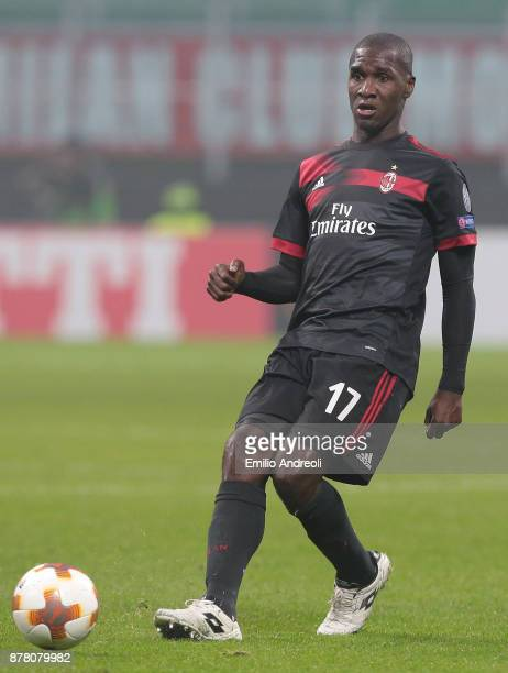 Cristian Zapata of AC Milan in action during the UEFA Europa League group D match between AC Milan and Austria Wien at Stadio Giuseppe Meazza on...