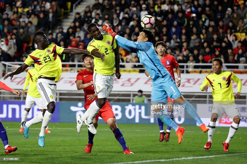 South Korea v Colombia - International Friendly