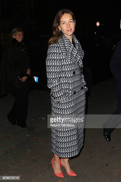 Cristiana Capotondi arrives at Fondazione IEO CMM Christmas Charity Dinner at Villa Necchi on December 13 2016 in Milan Italy