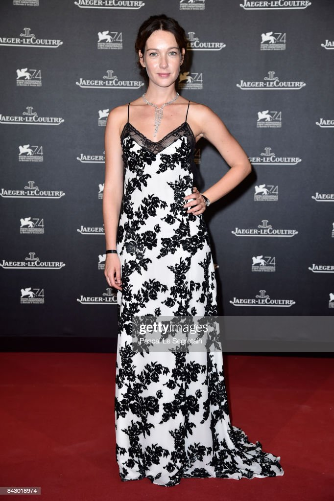 Cristiana Capotondi arrives for the Jaeger-LeCoultre Gala Dinner during the 74th Venice International Film Festival at Arsenale on September 5, 2017 in Venice, Italy.