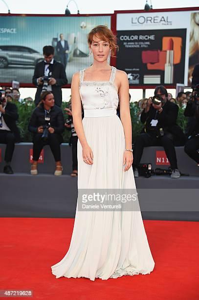 Cristiana Capotondi attends a premiere for 'Rabin The Last Day' during the 72nd Venice Film Festival at Palazzo del Casino on September 7 2015 in...