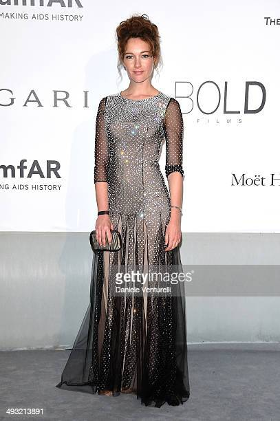 Cristiana Capotondi attends amfAR's 21st Cinema Against AIDS Gala Presented By WORLDVIEW BOLD FILMS And BVLGARI at Hotel du CapEdenRoc on May 22 2014...