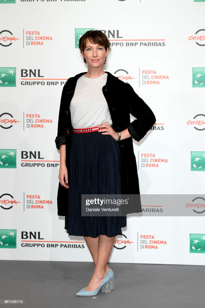 Cristiana Capotondi attends 'Metti Una Notte' photocall during the 12th Rome Film Fest at Auditorium Parco Della Musica on October 28, 2017 in Rome, Italy.