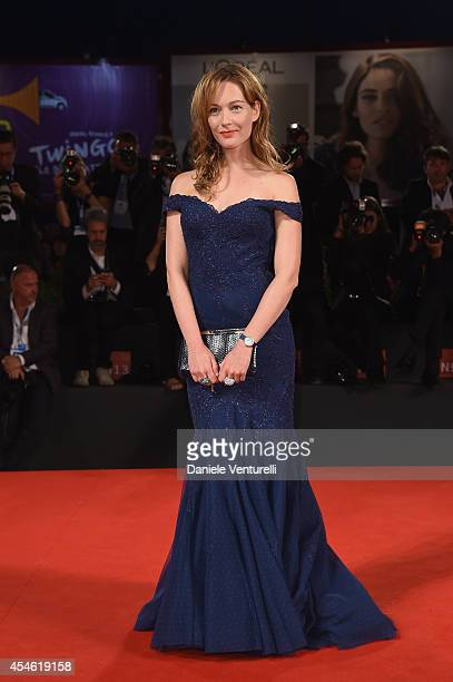 Cristiana Capotondi attends 'Pasolini' Premiere during the 71st Venice Film Festival at Sala Grande on September 4 2014 in Venice Italy