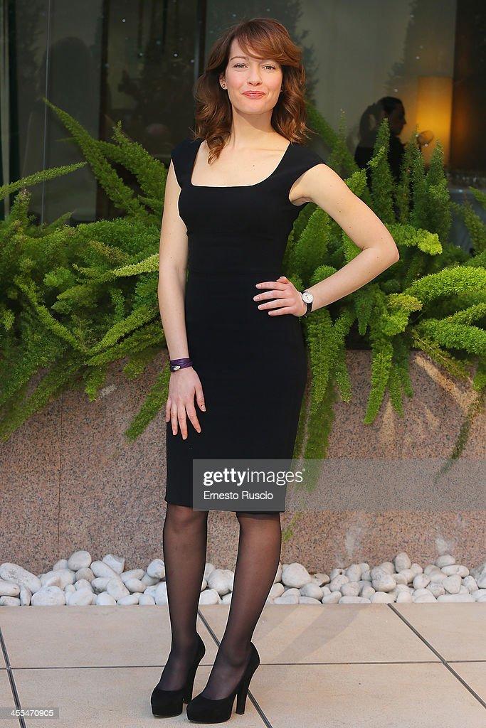 Cristiana Capotondi attends the 'Indovina Chi Viene A Natale' Photocall at Hotel Visconti on December 12, 2013 in Rome, Italy.