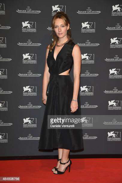 Cristiana Capotondi attends the JaegerLeCoultre Gala Dinner during the 71st Venice Film Festival on September 2 2014 in Venice Italy