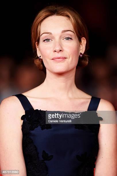 Cristiana Capotondi attends the Rome Film Festival Opening and 'Soap Opera' Red Carpet during the 9th Rome Film Festival at Auditorium Parco Della...
