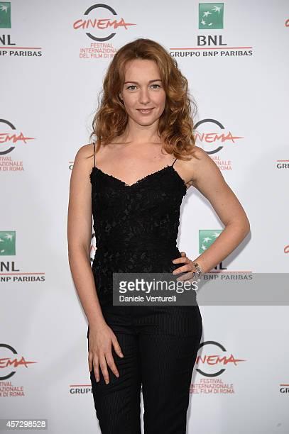 Cristiana Capotondi attends the 'Soap Opera' Photocall during The 9th Rome Film Festival at the Auditorium Parco Della Musica on October 16 2014 in...