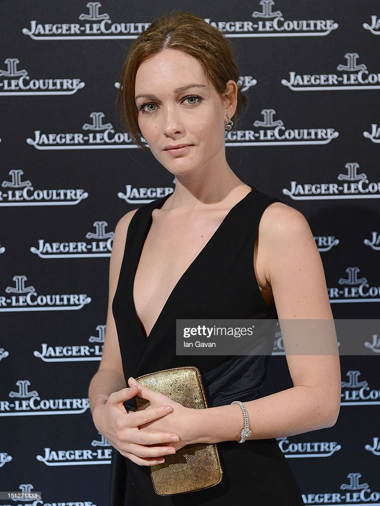 Cristiana Capotondi wearing a Jaeger-LeCoultre watch attends a gala dinner hosted by Jaeger-LeCoultre celebrating The Rendez-Vous Collection at Giustinian Palace in Venice during the 69th Venice Film Festival on September 4, 2012 in Venice, Italy.