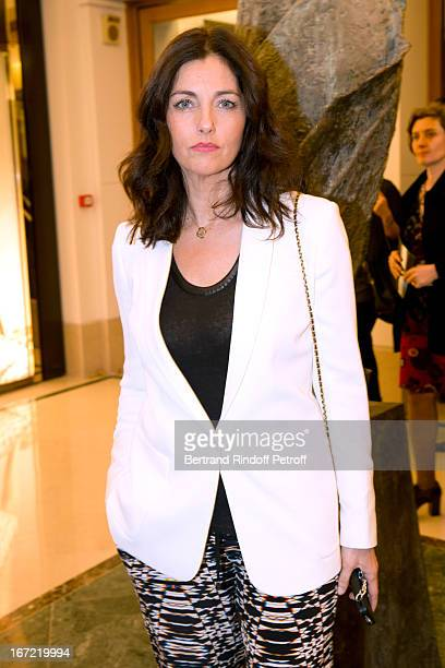 Cristiana Reali attends 'Le Bresil Rive Gauche' Exhibition opening party held at Le Bon Marche on April 22 2013 in Paris France