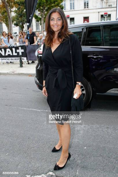 Cristiana Reali attends the 10th Angouleme FrenchSpeaking Film Festival Closing Ceremony on August 27 2017 in Angouleme France