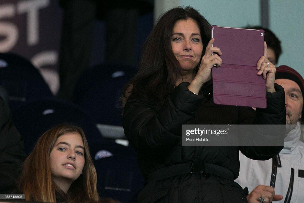 Celebrities At Paris Saint-Germain FC v Olympique de Marseille - Ligue 1
