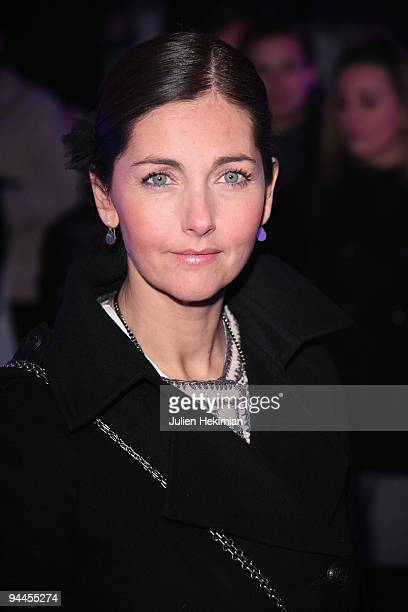 Cristiana Reali attends the Toshiba 'Go to Space' party at Palais De Tokyo on December 14 2009 in Paris France